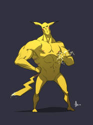 Pikachu by nJoo