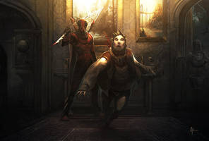 Red Mantis Assassination by nJoo