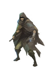 Beltais the Thief by nJoo