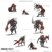 Dominance War - Sketch 1 by nJoo
