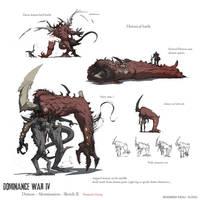 Dominance War - Sketch 2 by nJoo