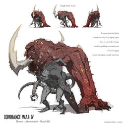 Dominance War - Sketch 3 by nJoo