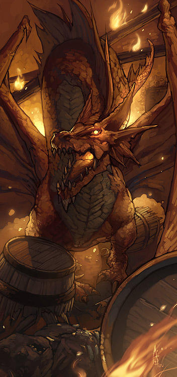 Photos et Images diverses =) - Page 2 Red_Dragon_by_nJoo