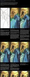 BIG FILE - Water Drag Tutorial by nJoo