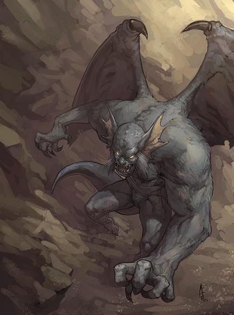Gargoyle by nJoo on deviantART
