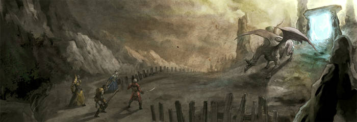 Gate of Oblivion by nJoo