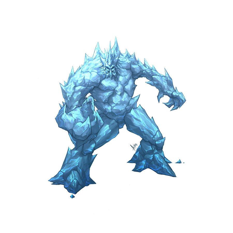 ice elemental dragons - photo #35
