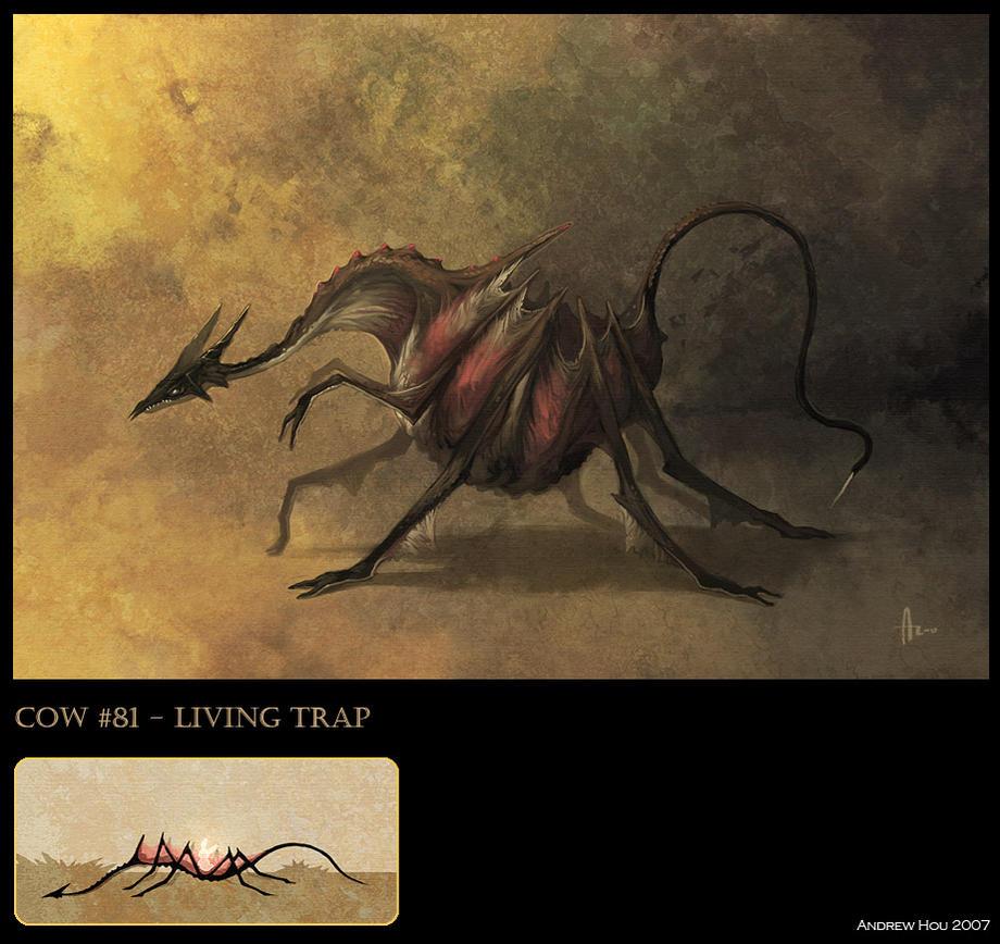 Bestiario. - Página 3 Living_Trap_by_nJoo