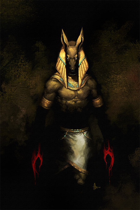 egypt The Anubis Murders - by nJoo DeviantArt (2007-2017) © dell'autore