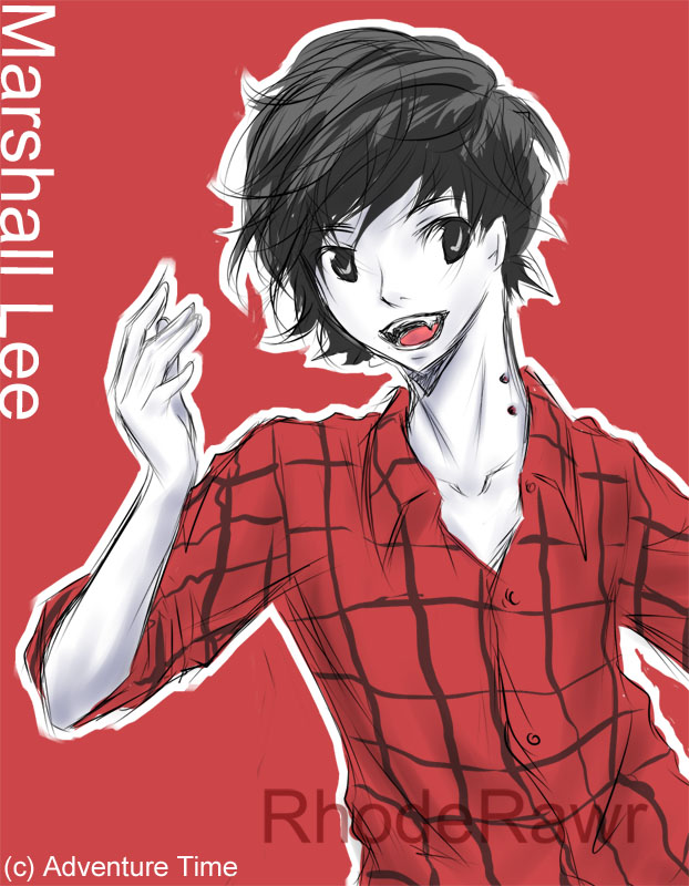 Adventure Time: Marshall Lee by rhoderawr