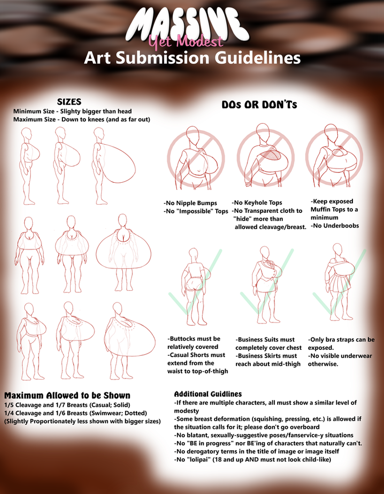 Modest Yet Massive Art Guidelines by ThoLozyOothor