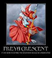 Freya Crescent, Dragon Slayer by Madhog