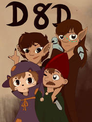 Dungeons and Dragons  by CircusGirl8