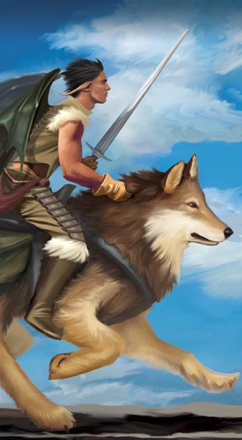 Knight of Swords by brighnasa