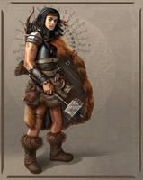 Barbarian Commission by brighnasa