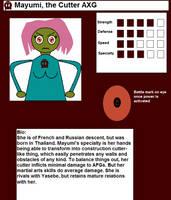 Mayumi's bio by TheEuropeanRage