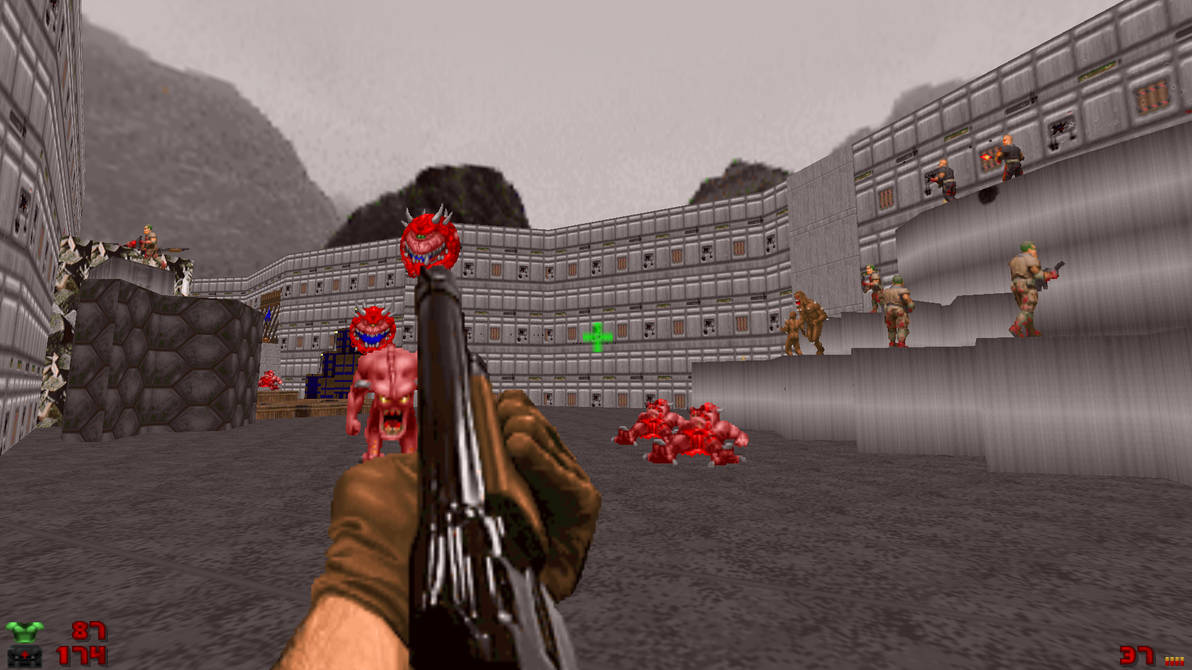 My Practice Doom Map by TheEuropeanRage on DeviantArt on