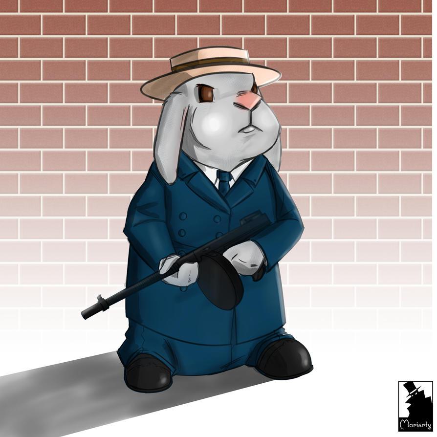 Mafia Bunny by JesseMoriarty