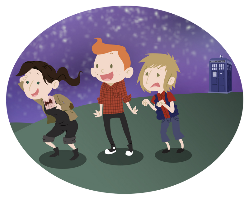 Genderbendy Team TARDIS