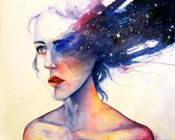Starry Eyed by cercueil-de-fleurs