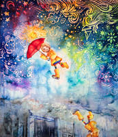 Puddle Jump by cercueil-de-fleurs