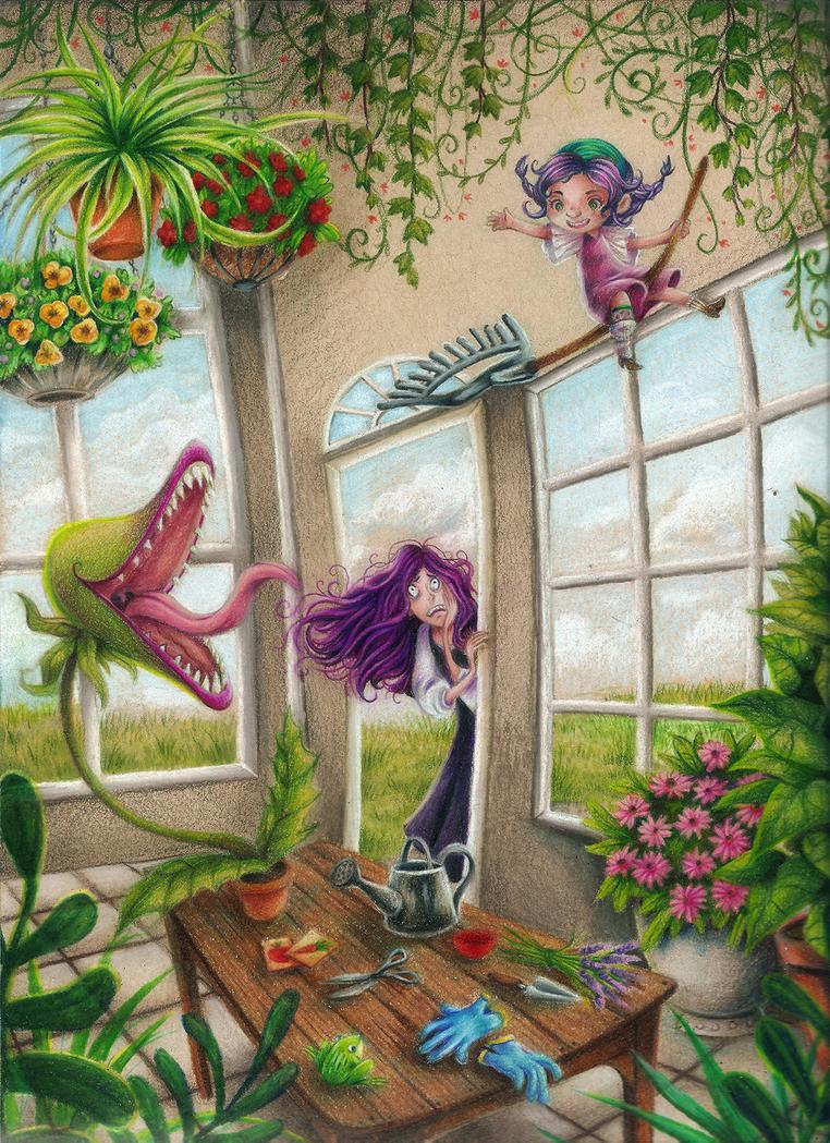 Greenhouse Magic by cercueil-de-fleurs