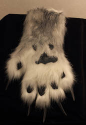 Scary werewolf handpaws and huge claws. by Voodoodelicious