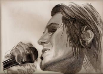 Davey Havok Portrait 3 by Jessica59874
