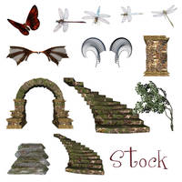 Assorted stock by loveit by TW3DSTOCK