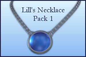 Necklace Pack 1 by Lill-stock by TW3DSTOCK