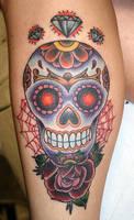 sugar skull by MrTat2