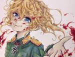 Deceitful Pact - Youjo Senki Fanart by MangaSeyren