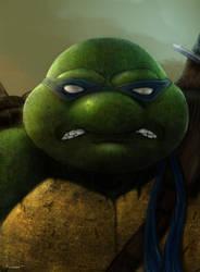 Leonardo by thesadpencil