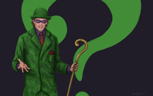 Steve Buscemi as The Riddler by thesadpencil