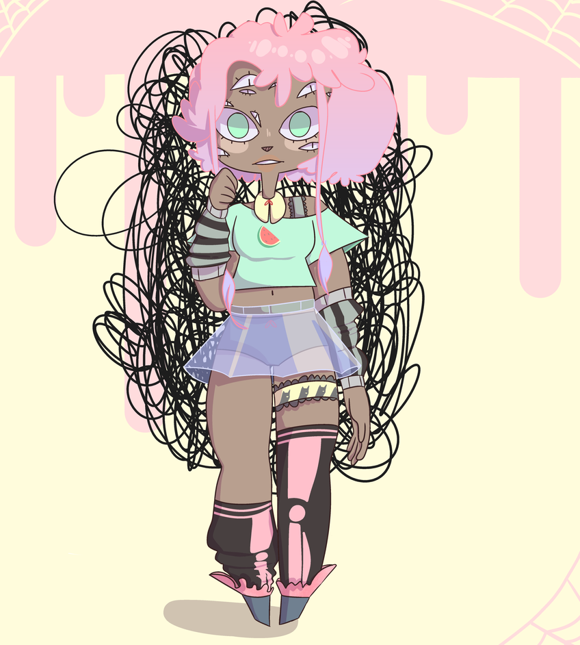 Edgy Pastel thing by ParchedSoup
