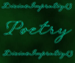 My Poetry and Prose Icon thing