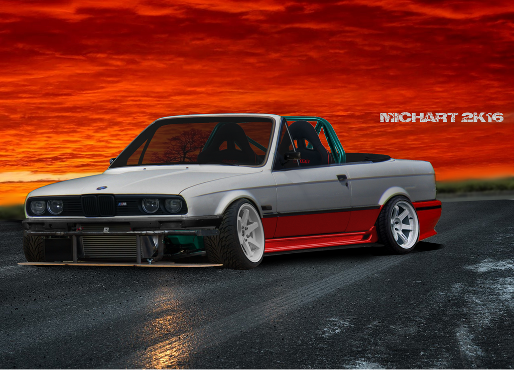 bmw 3 cabrio e30 virtual tuning by michart by michart. Black Bedroom Furniture Sets. Home Design Ideas