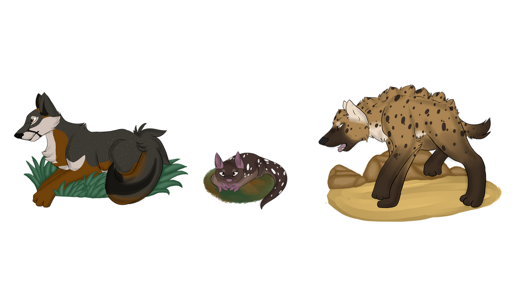 Daijou-Bu Critters by LadyPipen