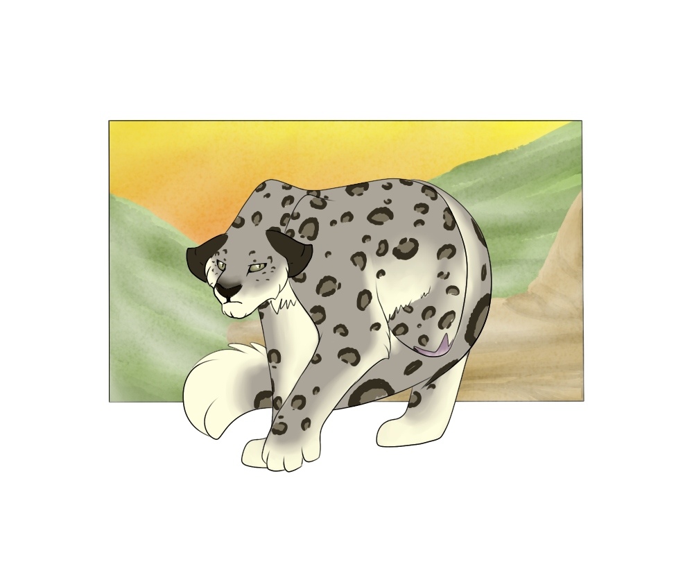 Botanica Zoo | Snow Leopard | Frank by LadyPipen