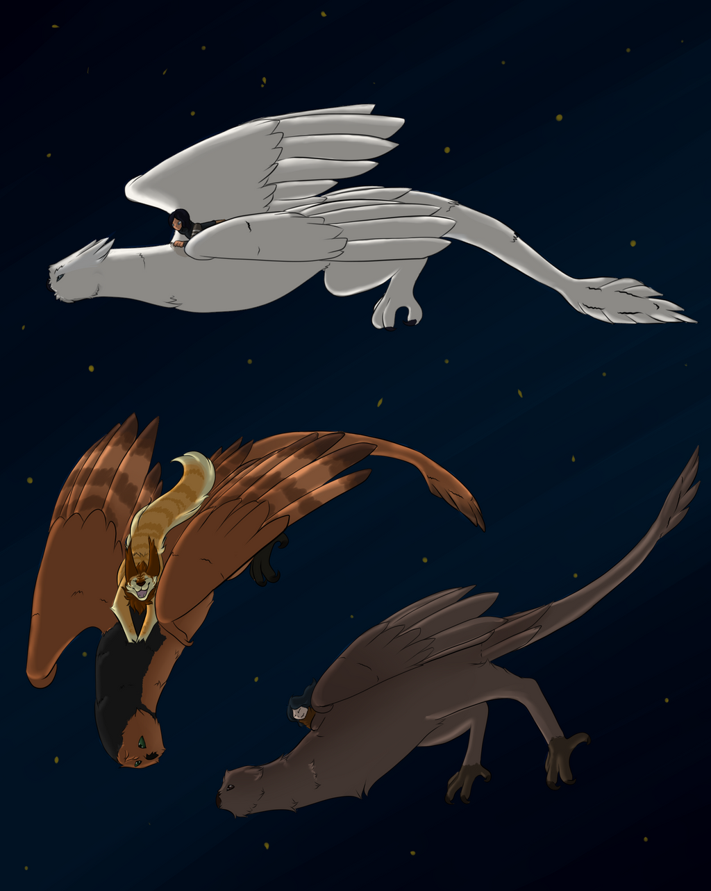 Tribute to Nokt | Moonlight Riders by LadyPipen