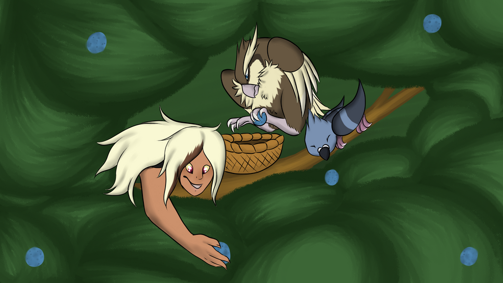 Berry Pickers by LadyPipen