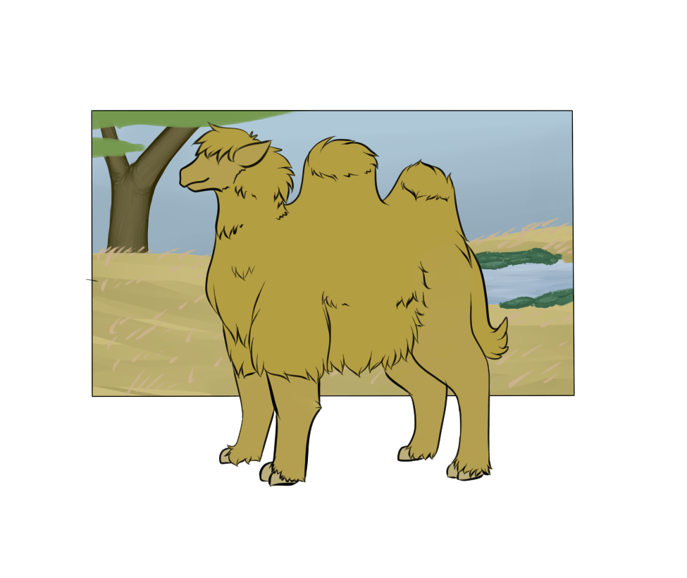 Botanica Zoo || Bactrian Camel || Benjamin by LadyPipen