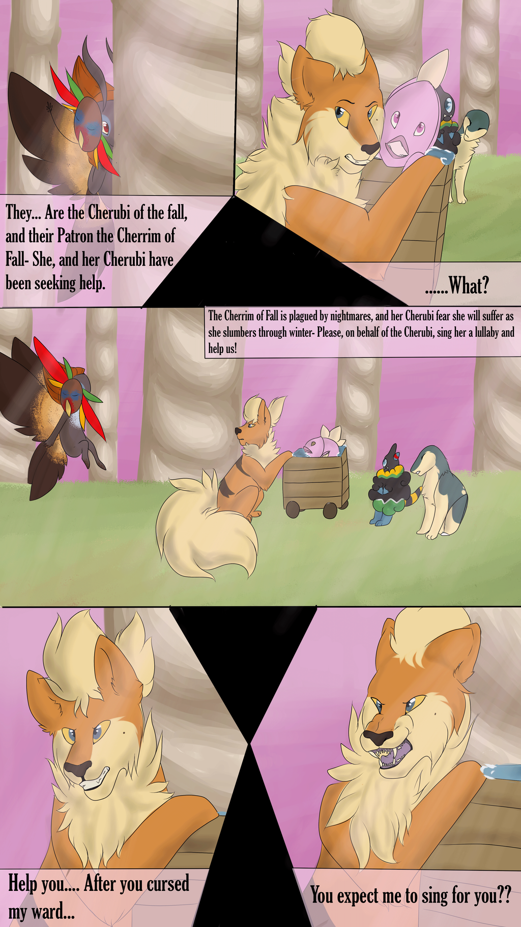 In Pinkan Hell - Page Three by LadyPipen