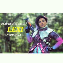My Overwatch Sombra Cosplay by Lexiscreamer987