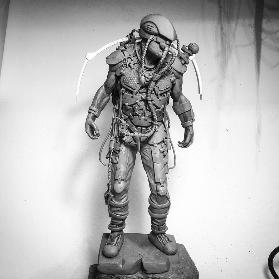 Rocket scout - 6th scale original character  by tomasmcadam