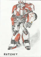 Transformers Prime: Ratchet by LadyIronhide