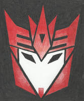Decepticon insignia - Knockout (TFP)