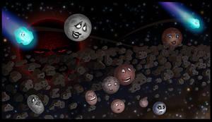 Kuiper Belt Conundrum by leckronium