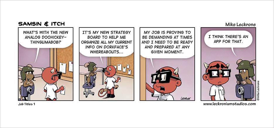 Job Titles 1 by leckronium