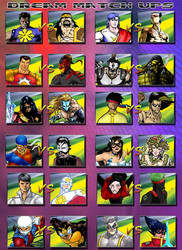 Dream Match ups by PinoySuperheroes